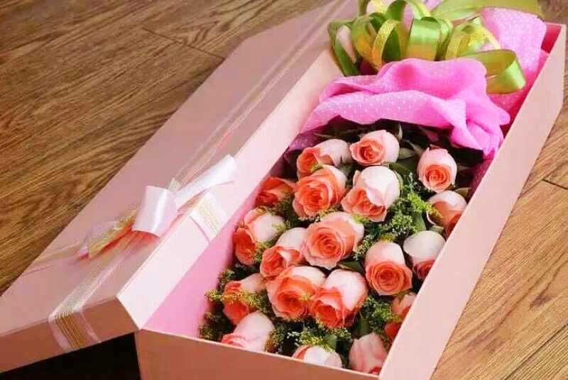 19支礼盒玫瑰