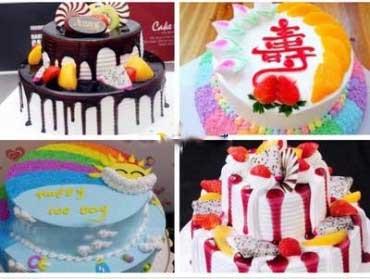 18英寸双层水果巧克力蛋糕,上下共18英寸